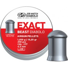 JSB Exact Beast 4.52 mm, 1.050 g (250 шт.)