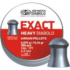 JSB Exact Heavy 4.52 mm, 0.670 g (500 шт.)