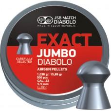 JSB Exact Jumbo 5.50 mm, 1.030 g (500 шт.)
