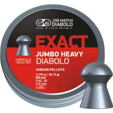 JSB Exact Jumbo Heavy 5.52 mm, 1.175 g (500 шт.)