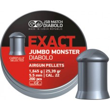 JSB Exact Jumbo Monster 5.52 mm, 1.645 g (200 шт.)