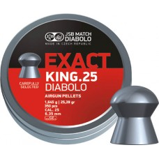 JSB Exact King 6.35 mm, 1.645 g (350 шт.)