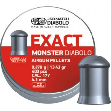 JSB Exact Monster 4.52 mm, 0.870 g (400 шт.)