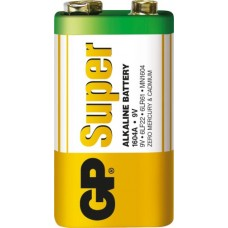 GP Super Alkaline 1604A 9V (Крона)