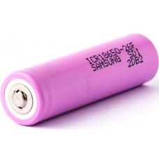 Аккумулятор 18650 Samsung ICR18650-26F 2600 mAh Li-ion защищённый