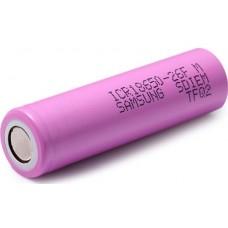 Аккумулятор 18650 Samsung ICR18650-26F 2600 mAh Li-ion