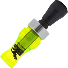 Double Nasty 2 Fluorescent Green/Black Duck Call