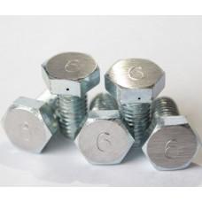 Жиклёр №6 алюминиевый 1 шт.