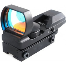 1x22x33 Red Dot Laser Sight Rifle Scope 11mm