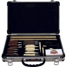 DAC Deluxe Universal 35 Piece Gun Cleaning Kit in an Aluminum Case